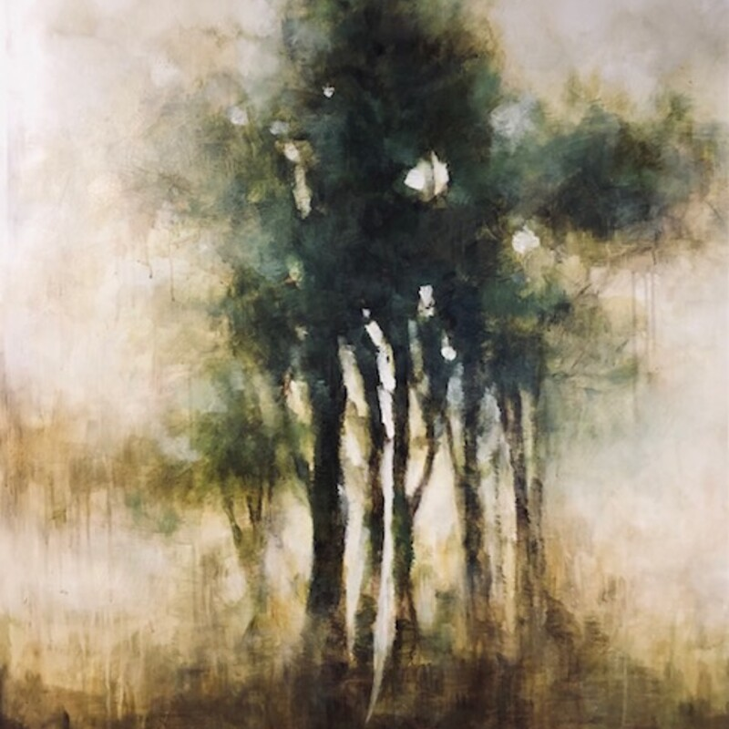 Muted Trees Canvas.