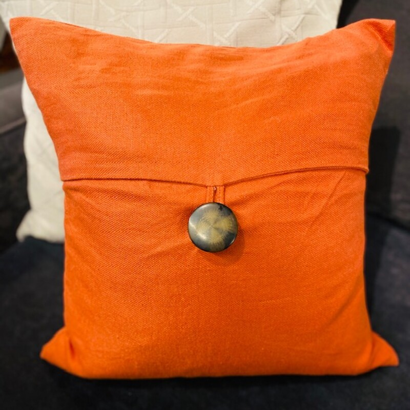 Pottery Barn Linen Button.