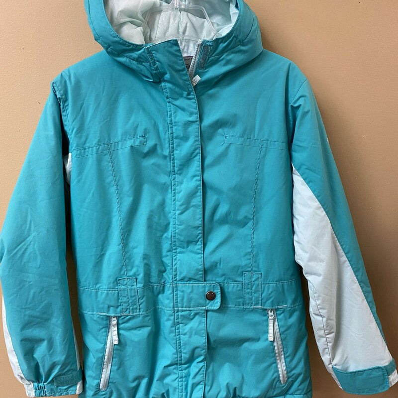 Columbia Coat, Green, Size: 10/12