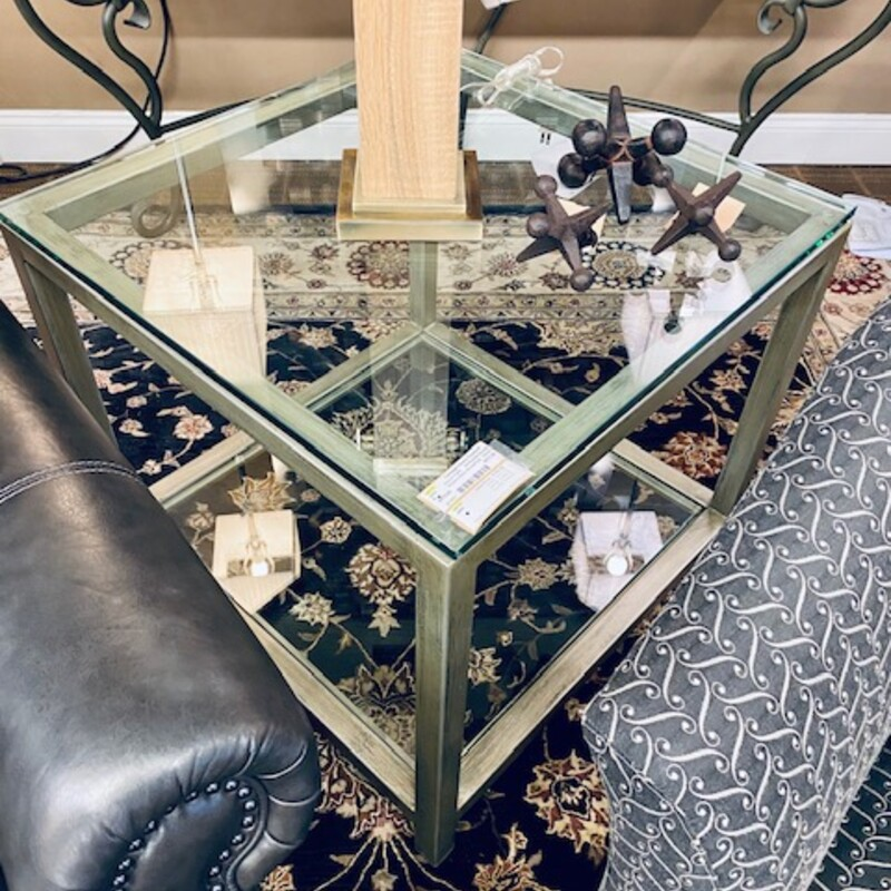 Century Glass AccentTable.