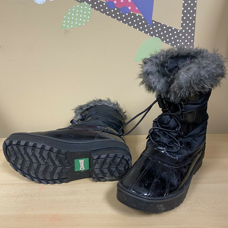 Cougar Winter Boots, Black, Size: 3