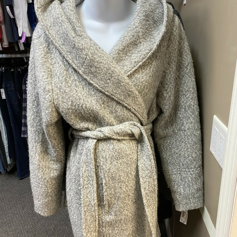Motherhood Wrap Coat.