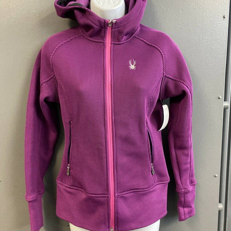 Zip Up Hooded Jacket.