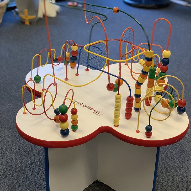 Fleur Rollercoaster Bead Table, great condition.<br /> <br /> Pick up in store