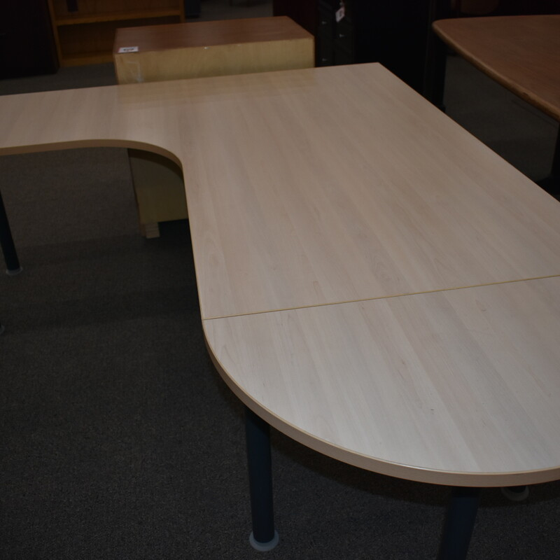 L-shaped Desk.