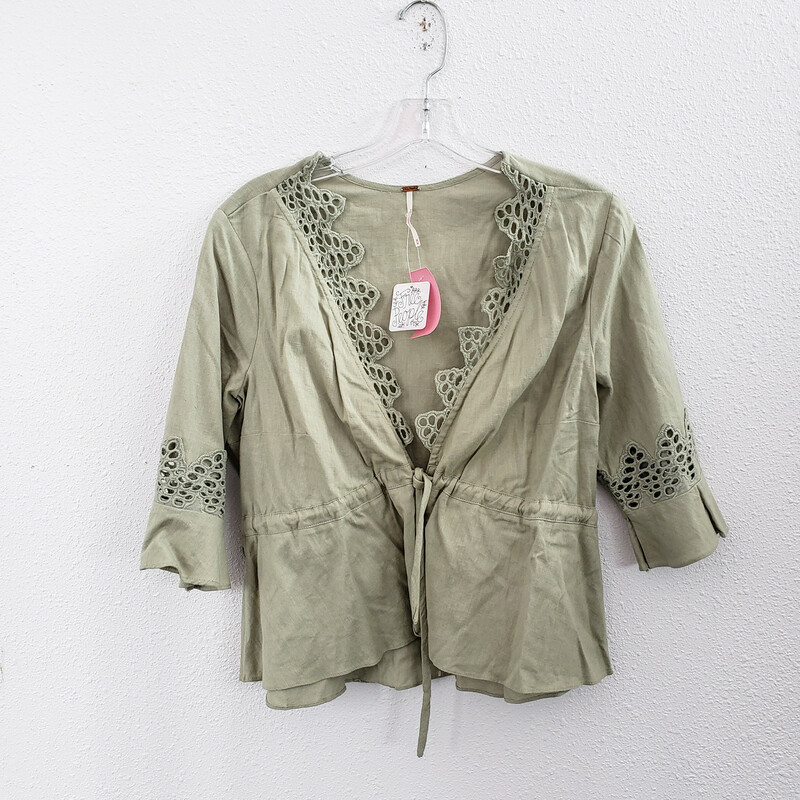 Free People, Green,<br /> Size: Medium<br /> NWT<br /> Original Retail $88