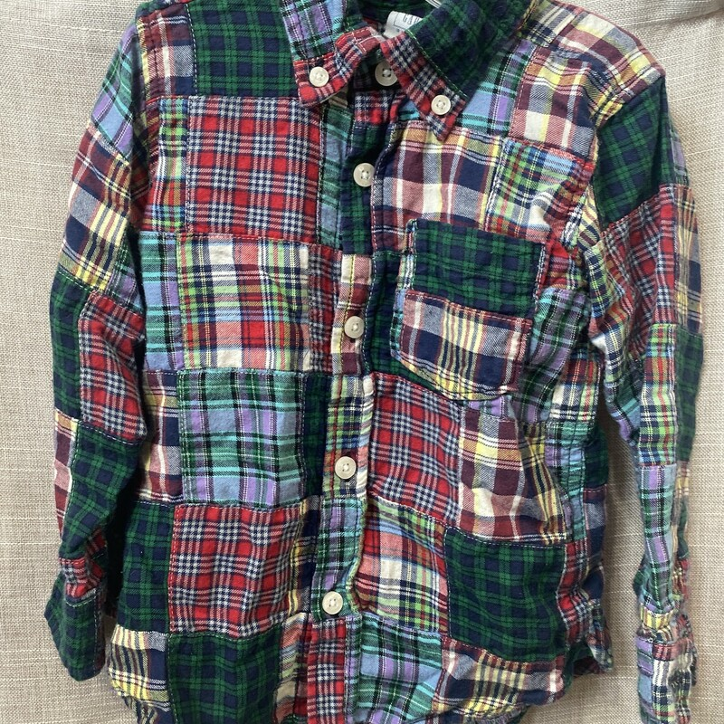 Babygap, Plaid, Size: 3