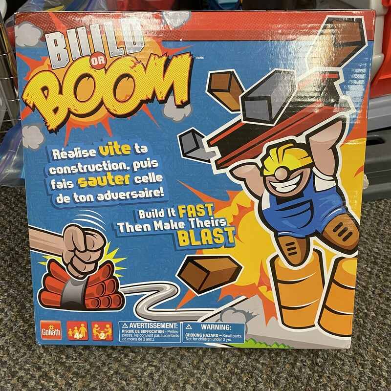 Build Or Boom Board Game, None, Size: None
