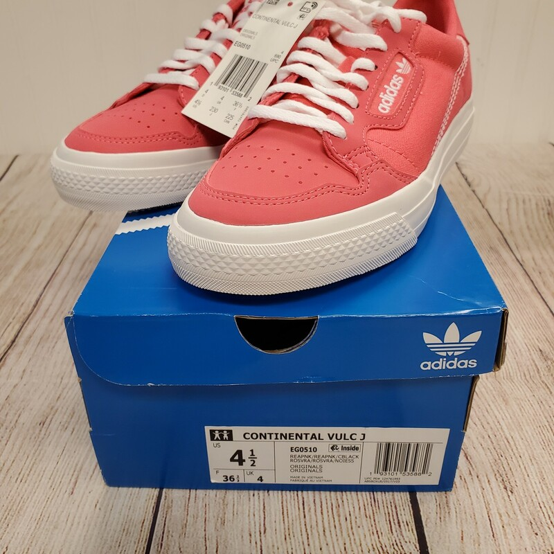 Adidas Continental NWT, Pink, Size: Shoe 4.5