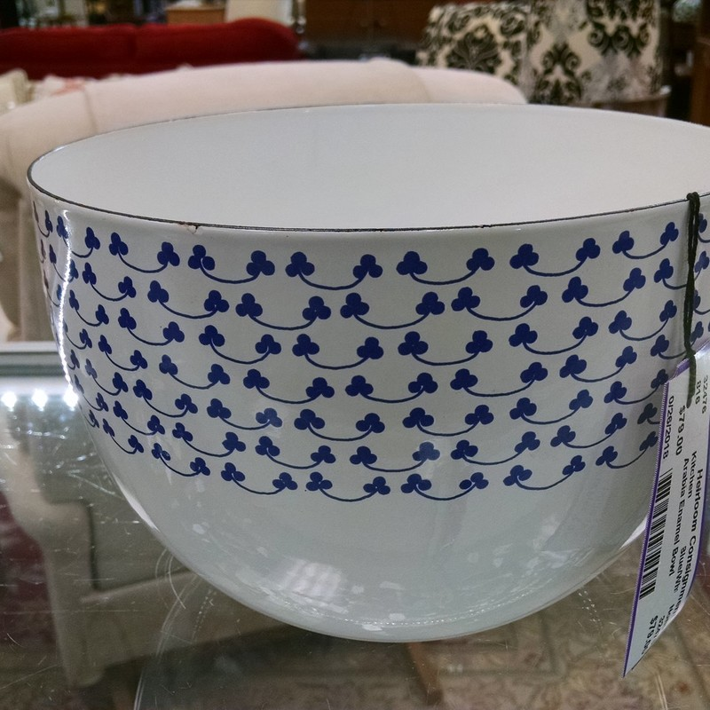 Arabia Enamel Bowl