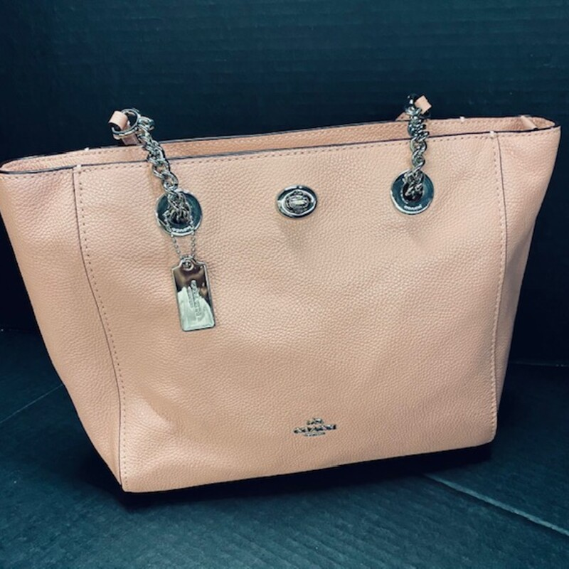 Coach Leather ShoulderBag.