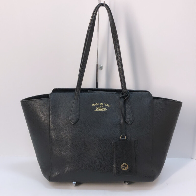 Gucci Medium Leather Swing Tote