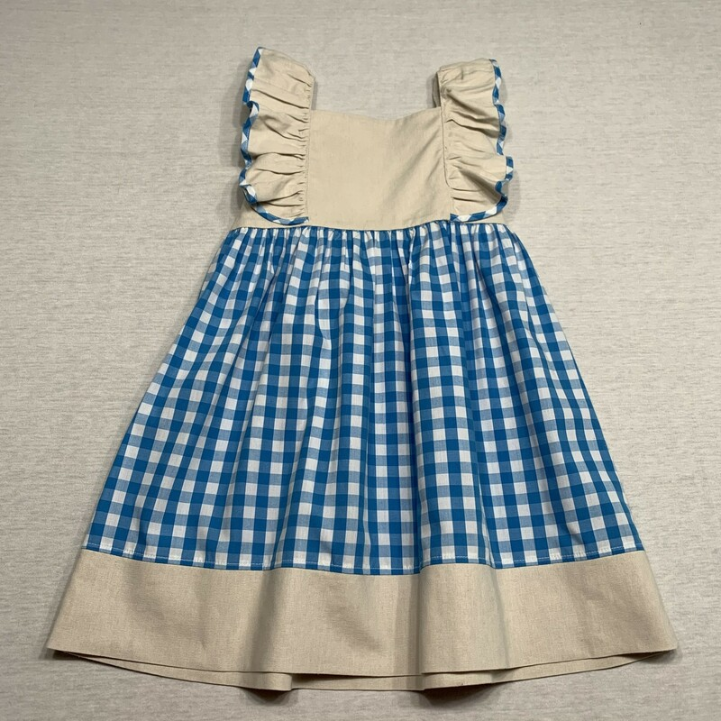 Checked Dress.