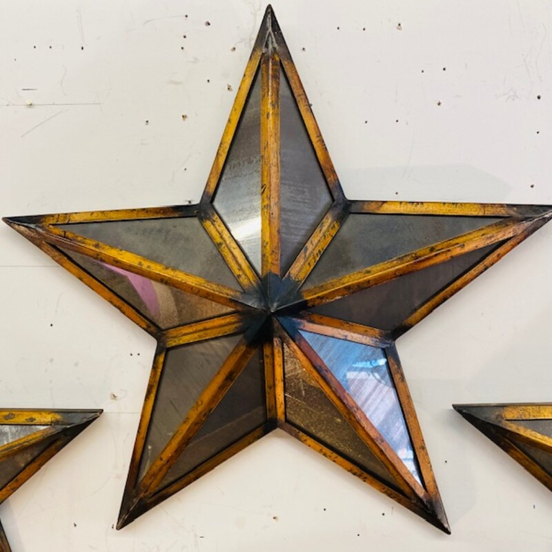 Bombay Mirrored Wall Star.