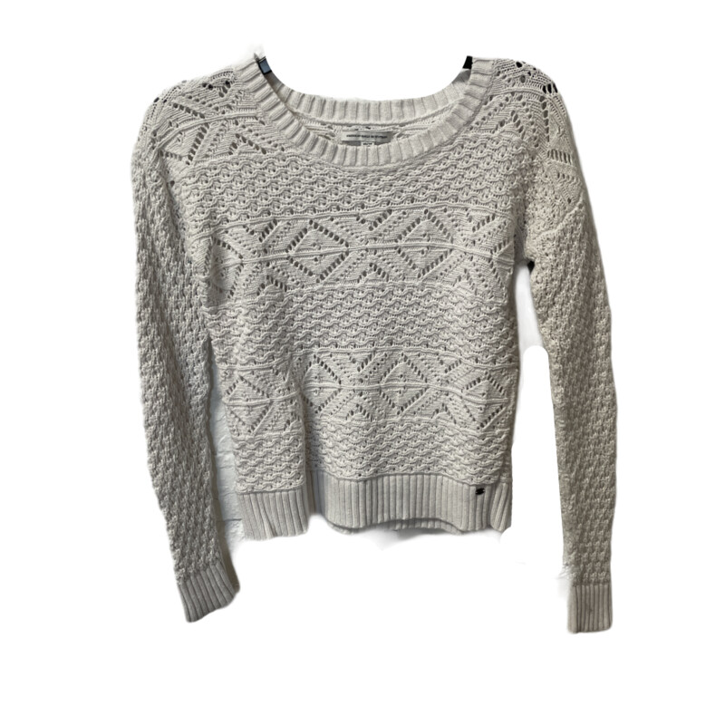 -American Eagle Outfitters<br /> -White<br /> -Heavy knit<br /> -Extra Small