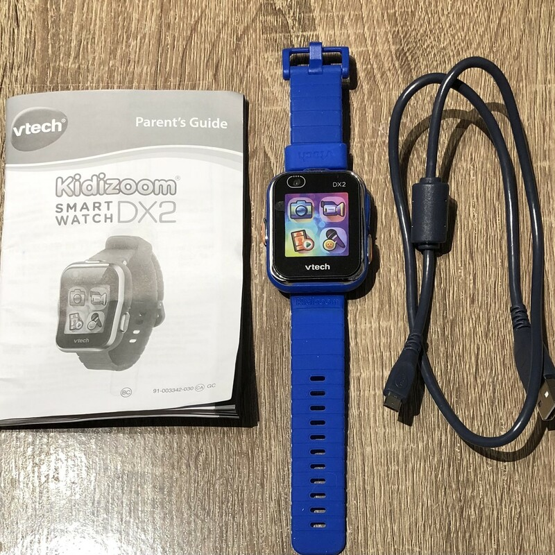 Vtech Kidizoom DX2,Smart Watch Blue, Size: 4Y+<br /> rechargeable.