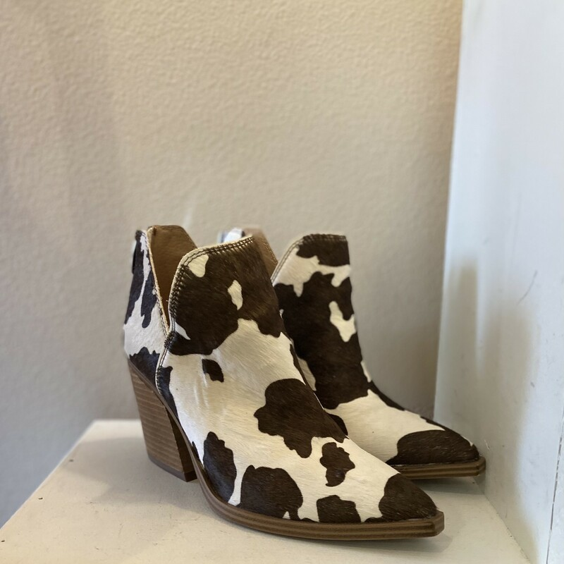 Cowhair Short Boot.