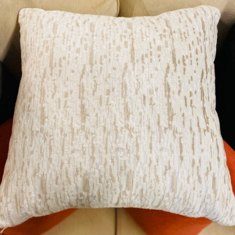 Textured Square Pillow.