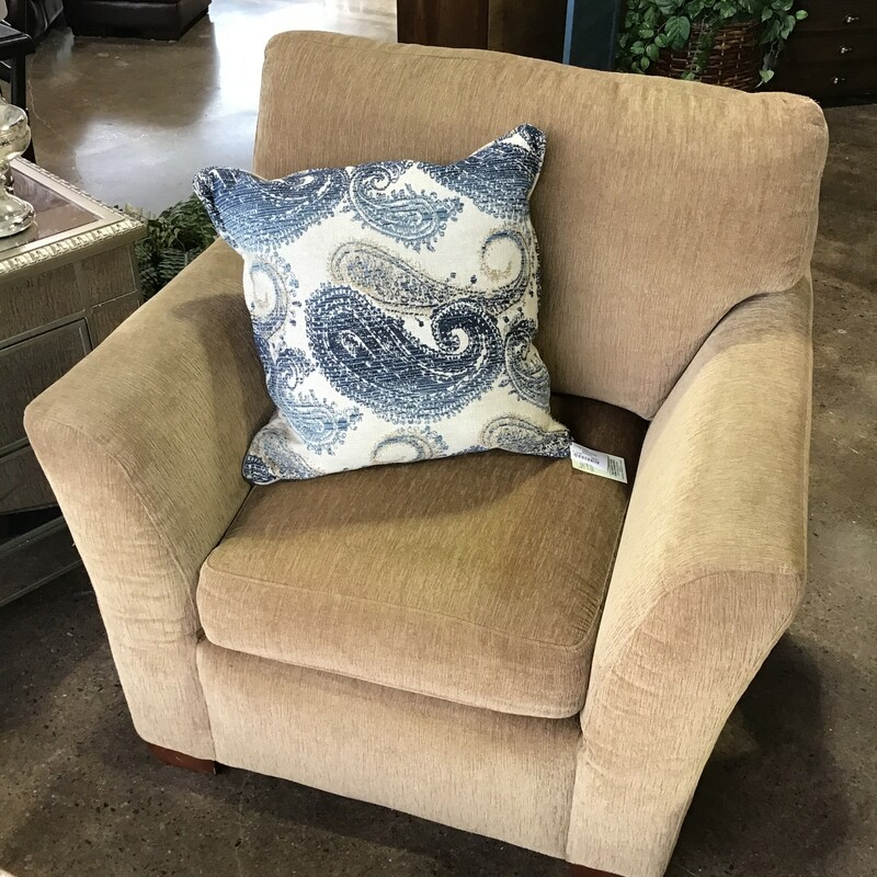 Upholstered Arm Chair.