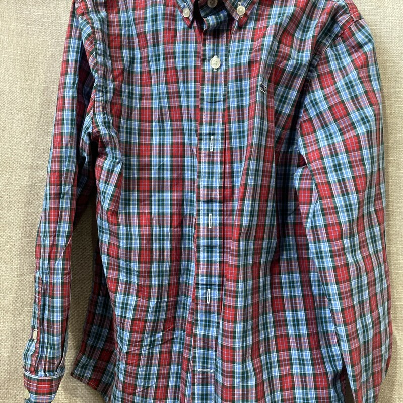 Vineyard Vines, Plaid, Size: 8/10