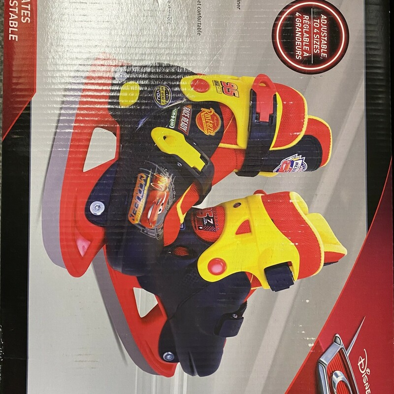 Disney Cars Skates NEW, None, Size: 12-2Y