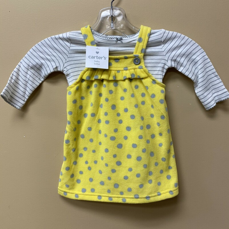 Carters Jumper NEW, Yellow, Size: 9mths