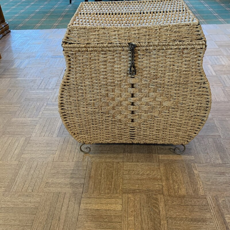 Wicker Chest.
