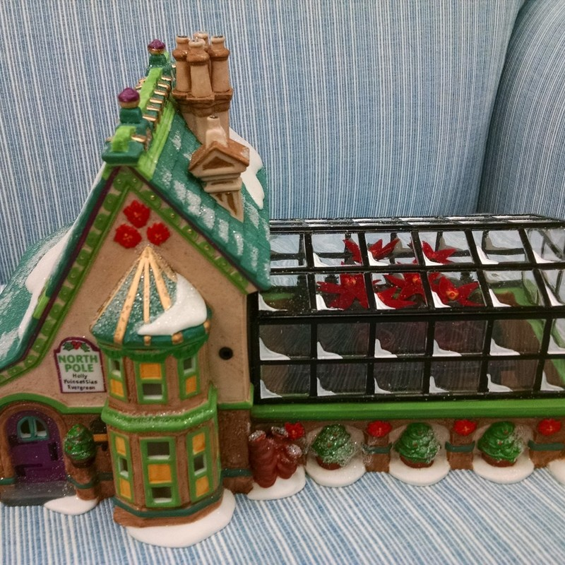Dept 56-Mrs Claus Greenhouse