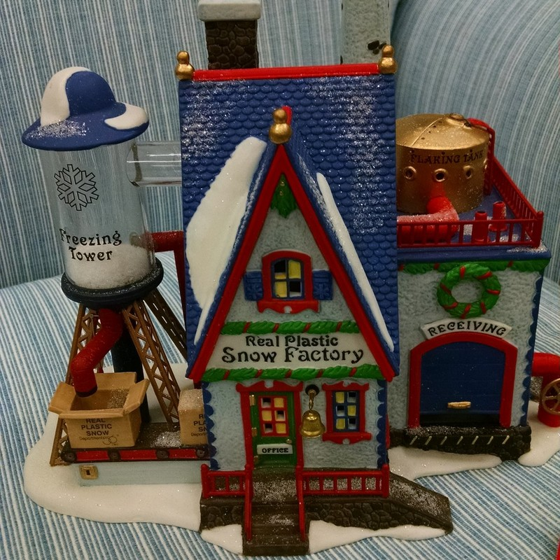 Dept 56- Real Plastic Snow Factory