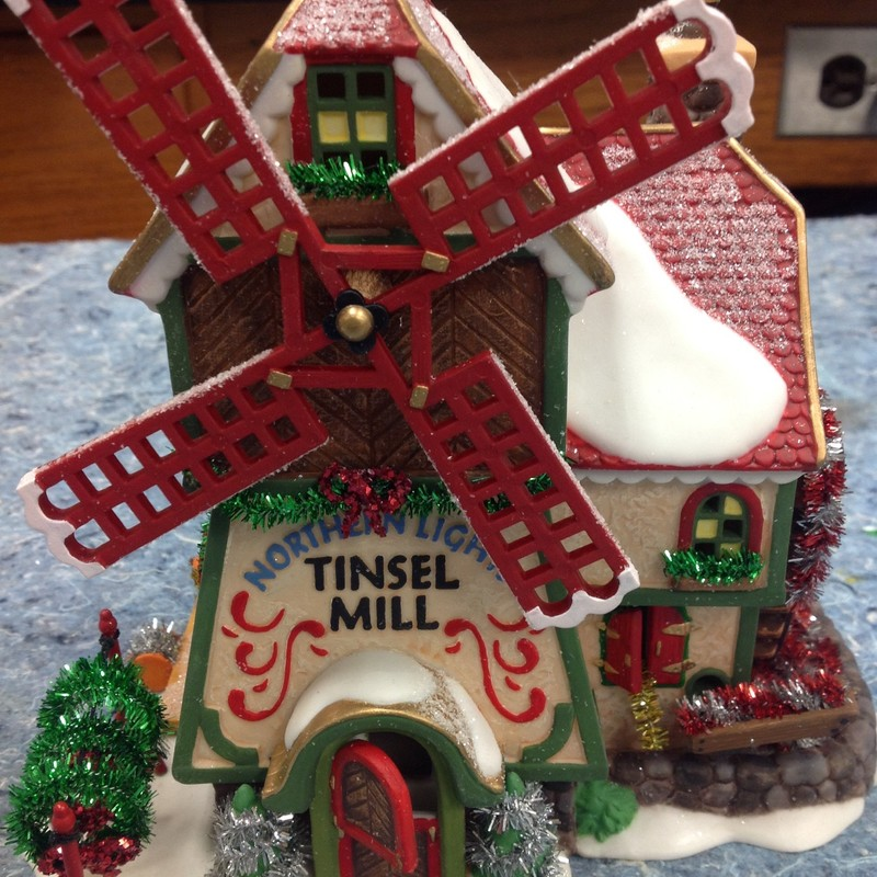 Dept 56-Tinsel Mill