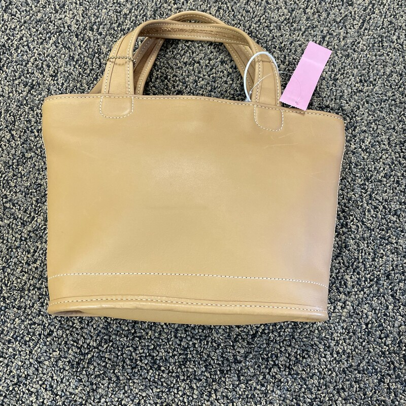 New Leather Zip Handbag.