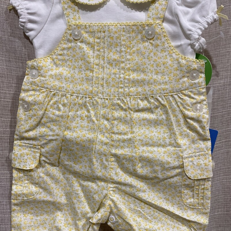 Carters, Yellow, Size: NB<br /> New with tags