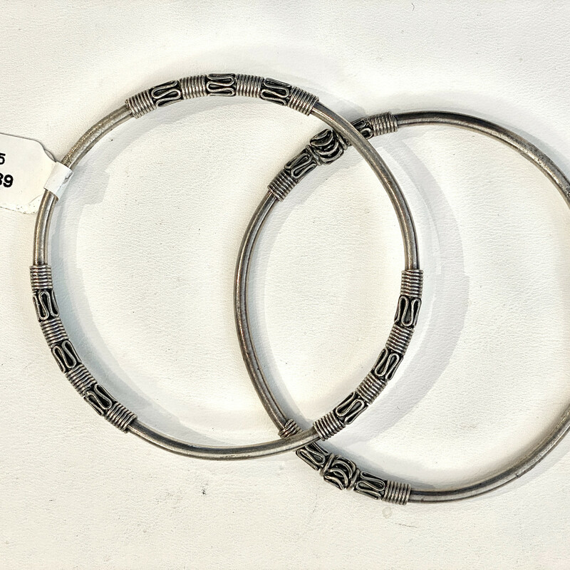 Sterling bangle<br /> Seonc one available Item#73789