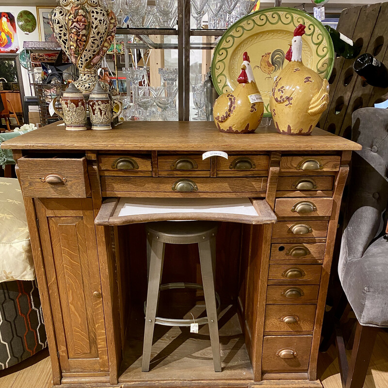 Rare and really cool find -  Watchmaker's cabinet<br /> Size: 44x27x39