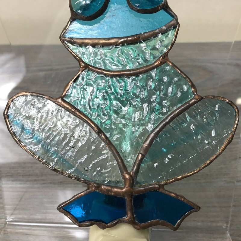 StainGlass Frog Nightligh.