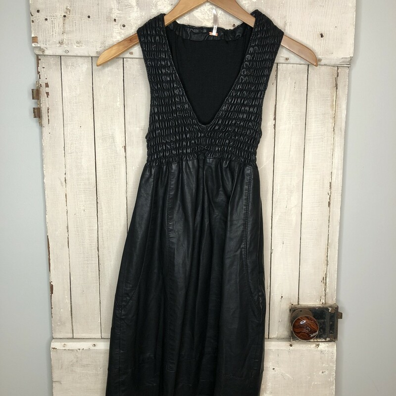Faux Leather Dress FP.