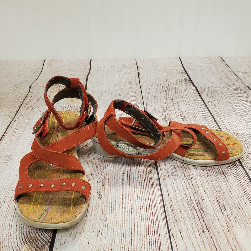 Ricosta Sandals, Red, Size: Shoe 2.5