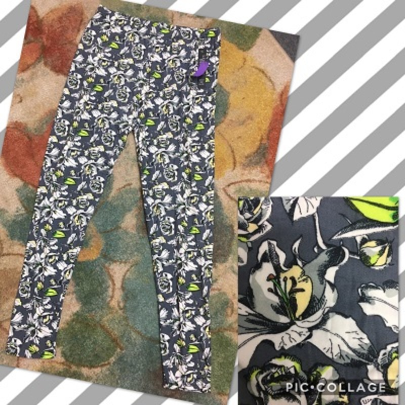 Get You a pair of our Flower Print Regular Leggings, they are so cute and would look great for any occasion. The material is made of 92% Polyester 8% Spandex with an inseam of 29in.