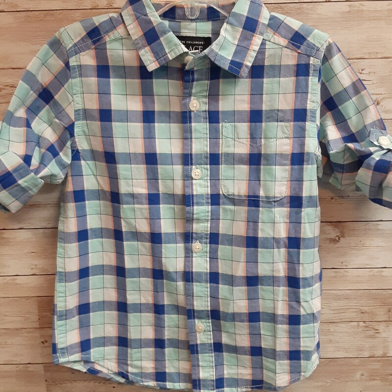 TCP Plaid Shirt.