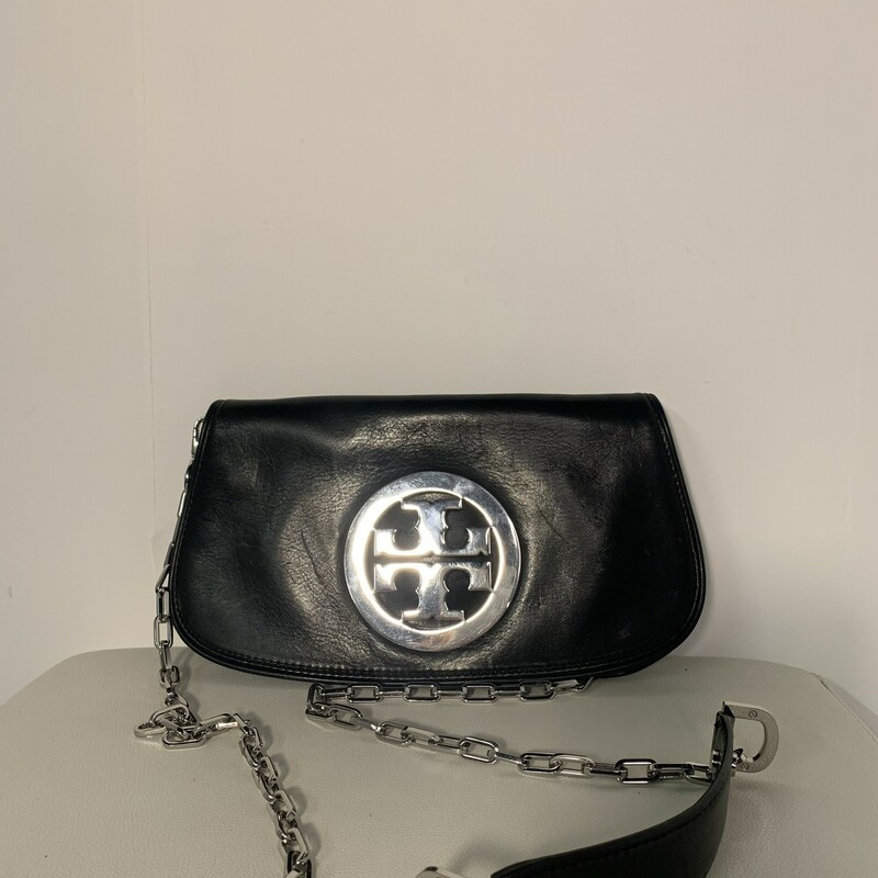 Tory Burch - Sz Md, Two Tone, Size: Blk/silv