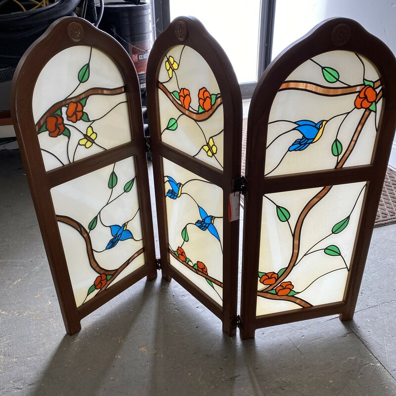 3 Panel - Stain Glass/woo.