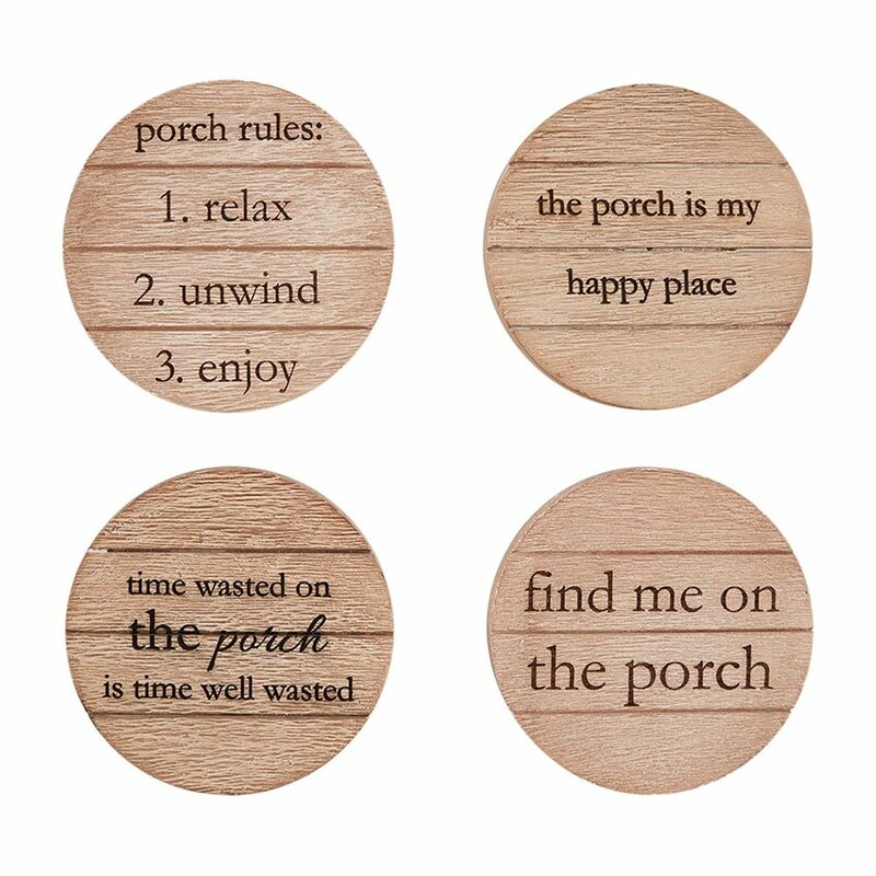 Porch Coaster Set.