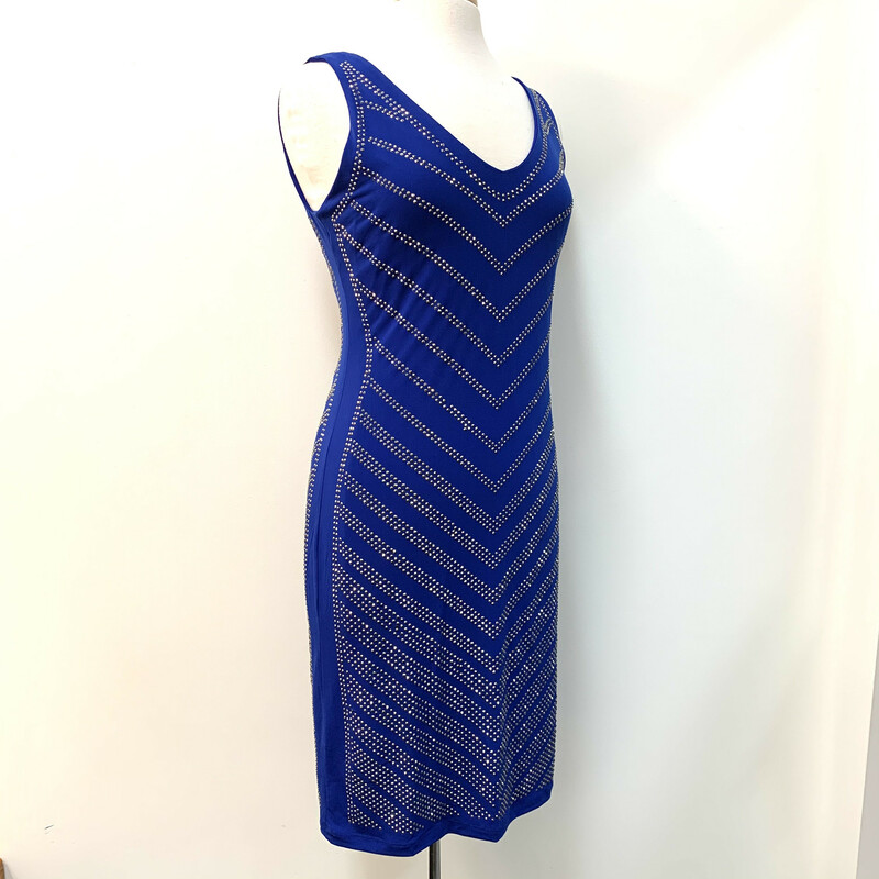 NEW Carmen Dress<br /> Cobalt w/Silver sparkles<br /> Retails $118<br /> Sleeveless<br /> Size: Large