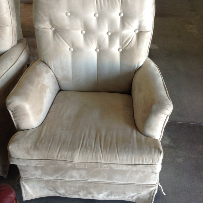 "Cream Swivel Rocker, Cream, Rocker<br /> Ideal for a movie room<br /> 28"" wide x 28\"" deep x 31\"" tall"