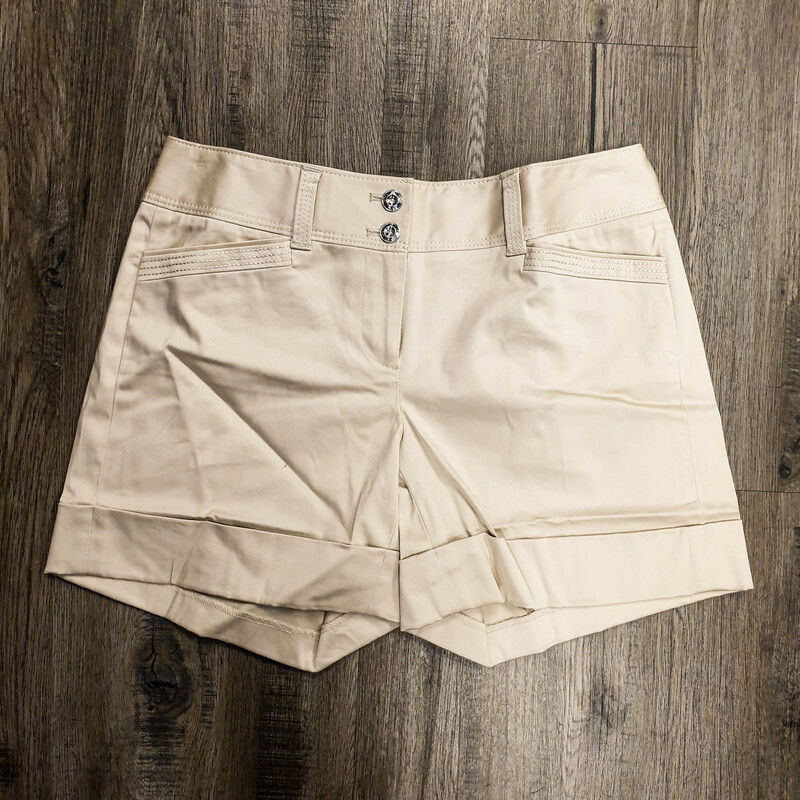Beautiful White House Black Market Shorts.<br /> - Brand new<br /> - Tan color<br /> - Real front and back pockets<br /> - Waist circumference: 29 in.<br /> - Length: 13 in.<br /> - Size XSmall/0<br /> <br /> * Please note that these measurements and pictures are for reference only and may vary slightly from the original.