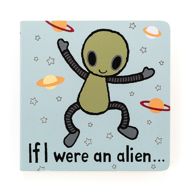 If I Were An Alien Book.