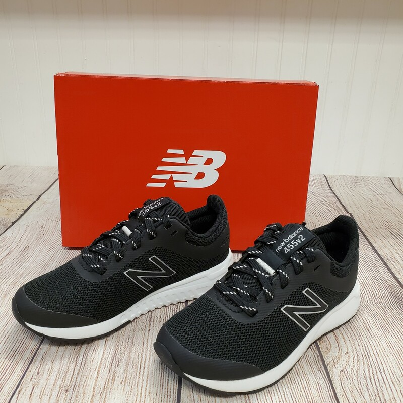 New Balance 455v2 NEW, Black, Size: Shoe 3.5