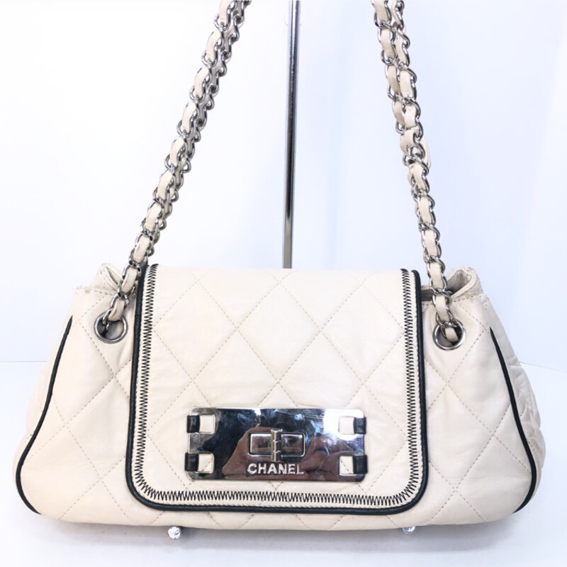 Chanel Mademoiselle Accordian Quilted Lambskin, $1199.99