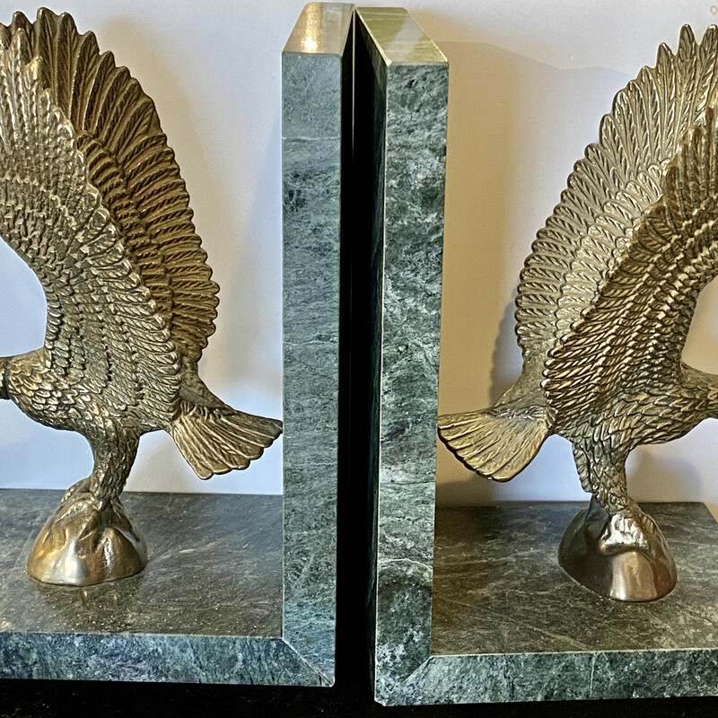 Bookends Eagle Brass.