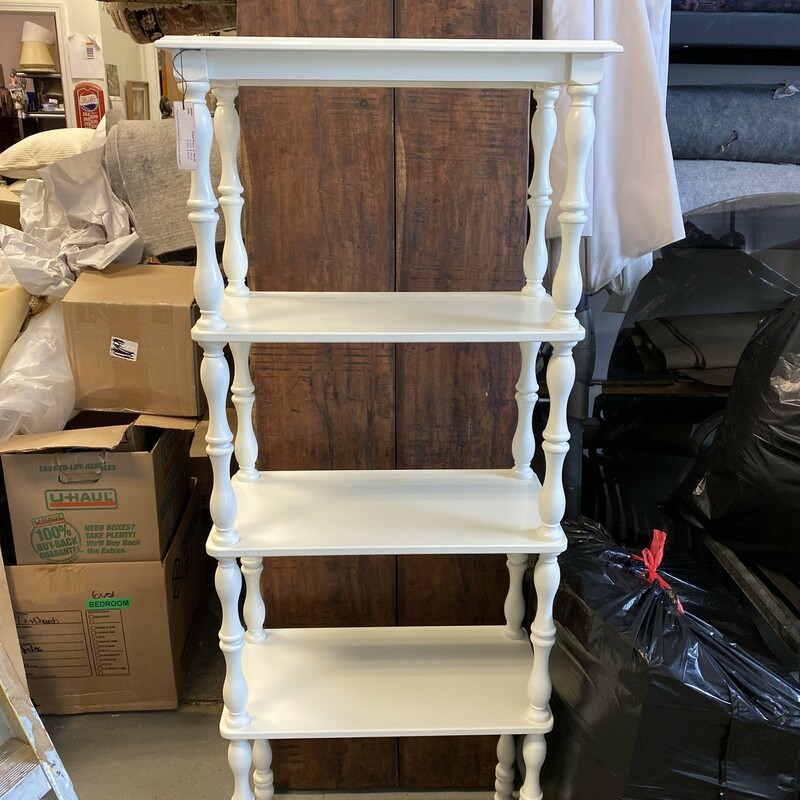 4 Shelf Open Bookcase/She.